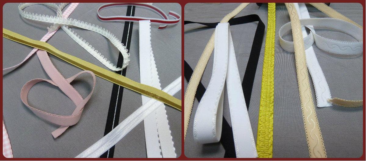 cintas elásticas corseteria